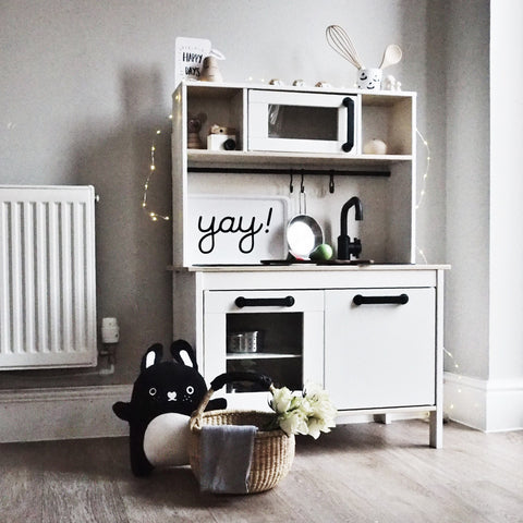 Ikea Duktig toy kitchen how to upcycle