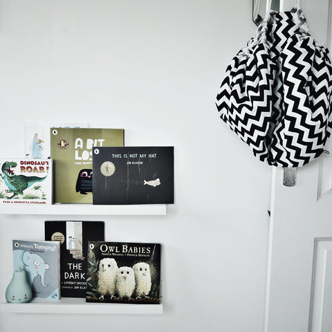 Monochrome boys room