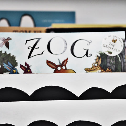 How to upcycle Ikea Moppe for children's book storage – This