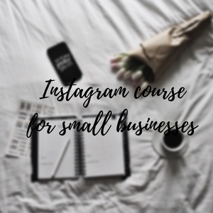 Instagram for small business course