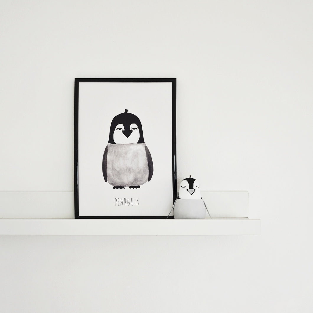 penguin print for childrens rooms