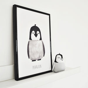 pearguin penguin print for nurseries
