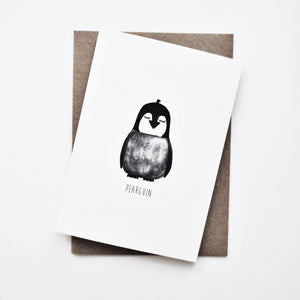 penguin pear card