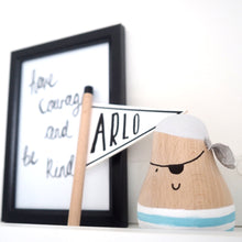 wooden nursery decoration