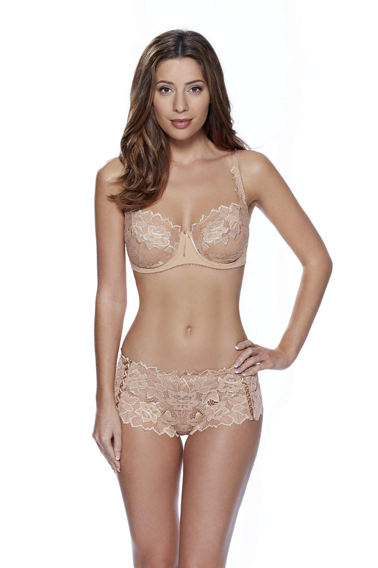 Fiore Shorts in Nude by Lepel - Charnos / Lepel - Katys Boutique Lingerie USA