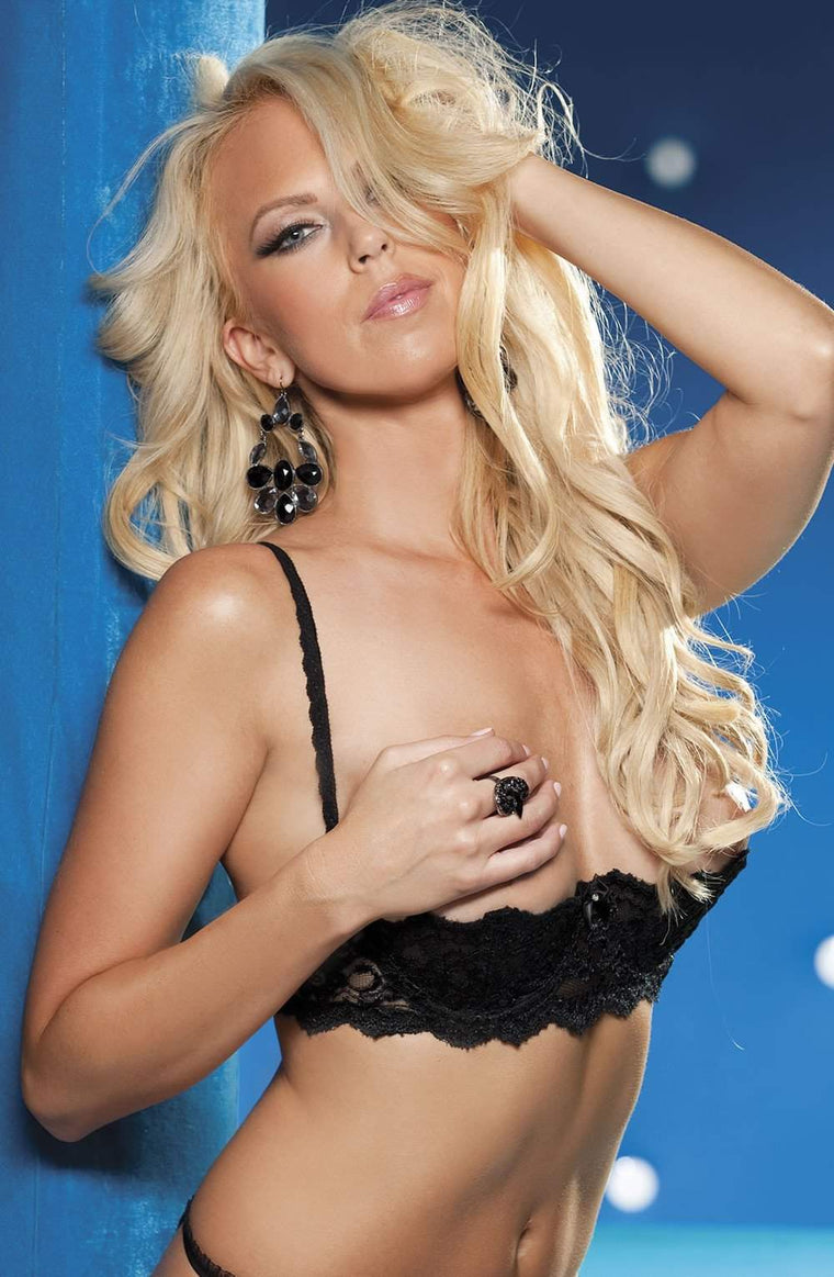 SoH 324 Bra Black - Shirley of Hollywood - Katys Boutique Lingerie USA