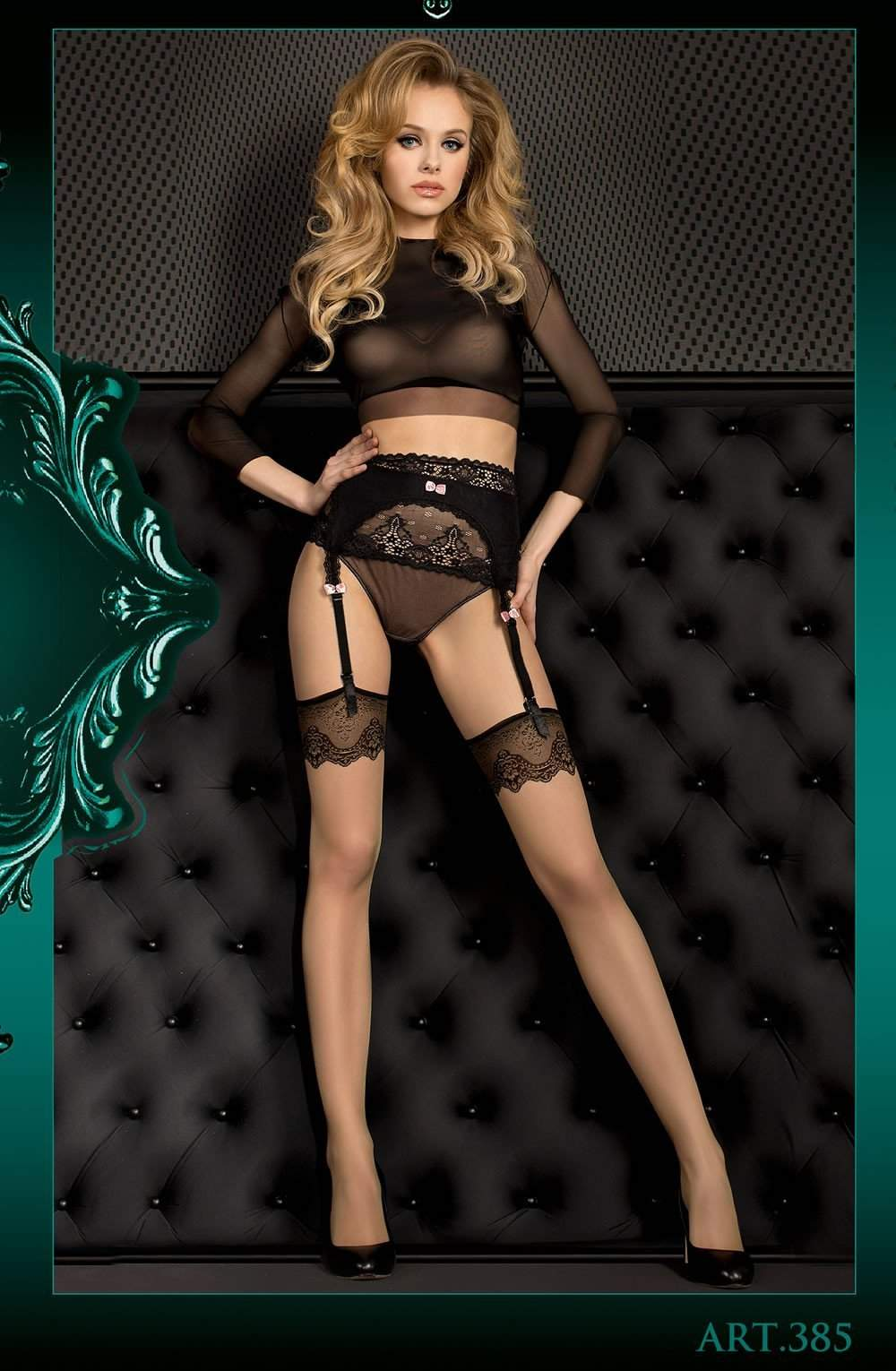 Ballerina 385 Stockings Skin - Ballerina - Katys Boutique Lingerie USA