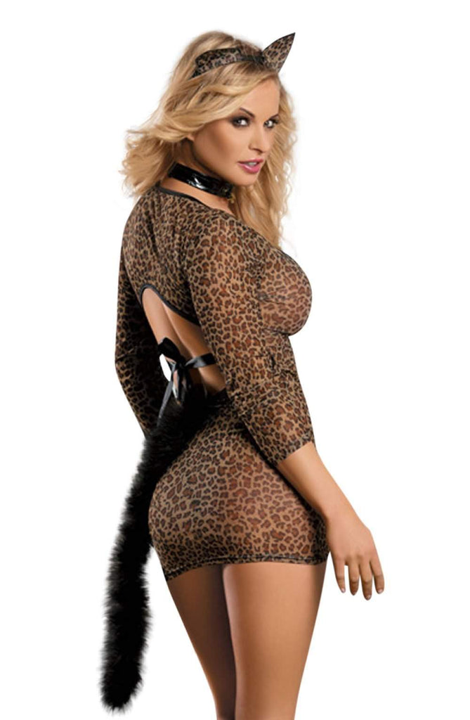 YesX YX130 Leopard - YesX - Katys Boutique Lingerie USA