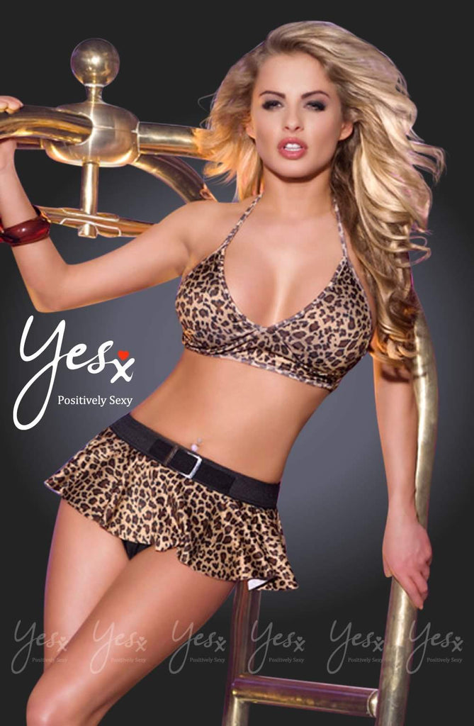 YesX YX330 Bra and Skirt - YesX - Katys Boutique Lingerie USA