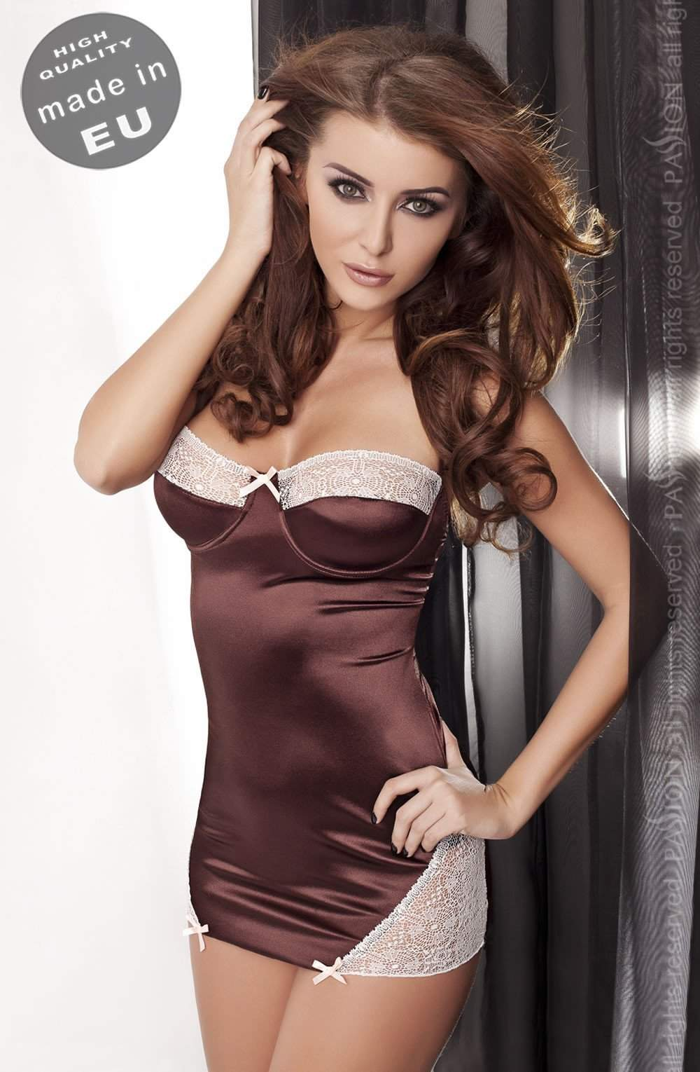 Omega Chemise by Passion - Passion - Katys Boutique Lingerie USA