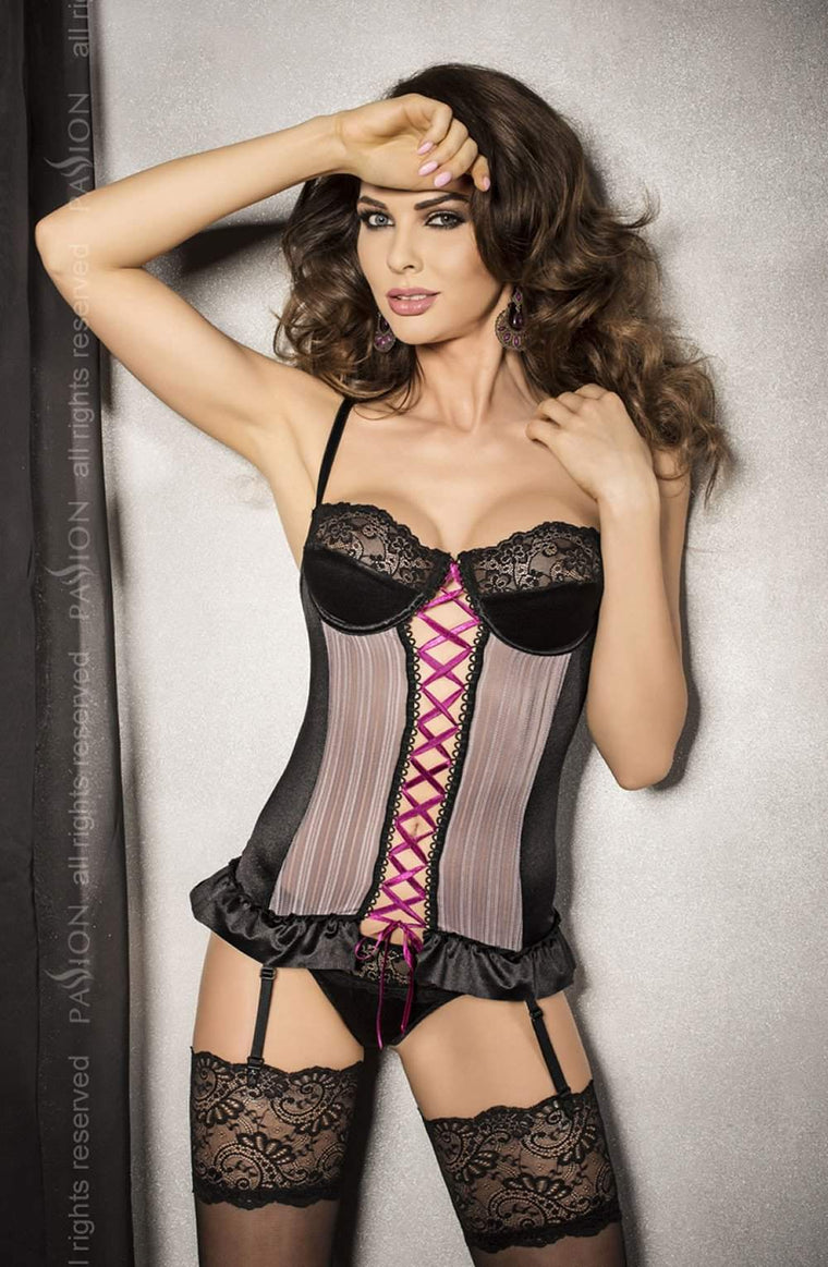 Fabio Corset by Passion - Passion - Katys Boutique Lingerie USA