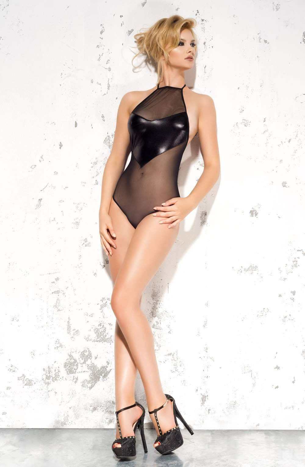 Emma Body in Black by Me Seduce - Me Seduce - Katys Boutique Lingerie USA