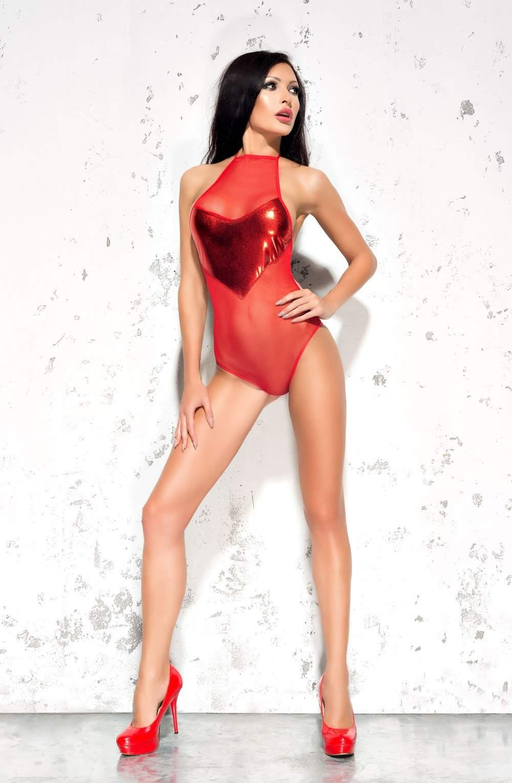 Emma Body in Red by Me Seduce - Me Seduce - Katys Boutique Lingerie USA