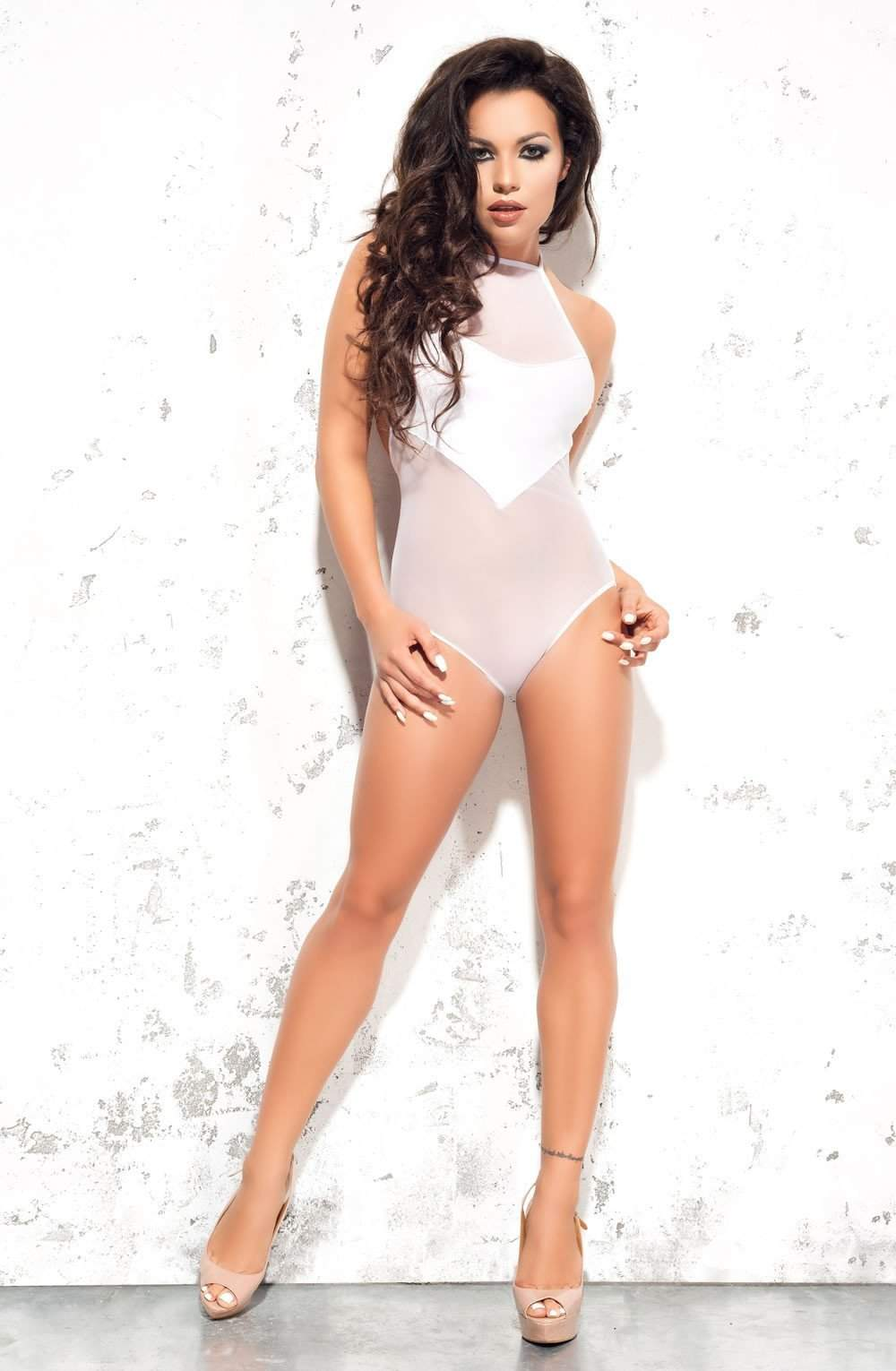 Emma Body in White by Me Seduce - Me Seduce - Katys Boutique Lingerie USA