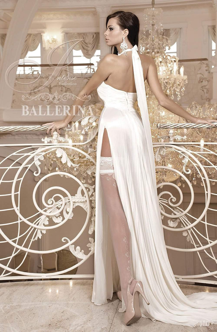 255 Hold Ups in Ivory by Ballerina - Ballerina - Katys Boutique Lingerie USA