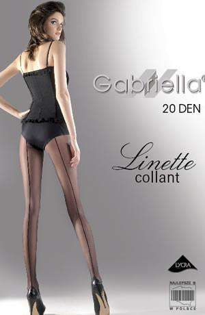 Classic Linette Tights in Nero by Gabriella - Gabriella - Katys Boutique Lingerie USA