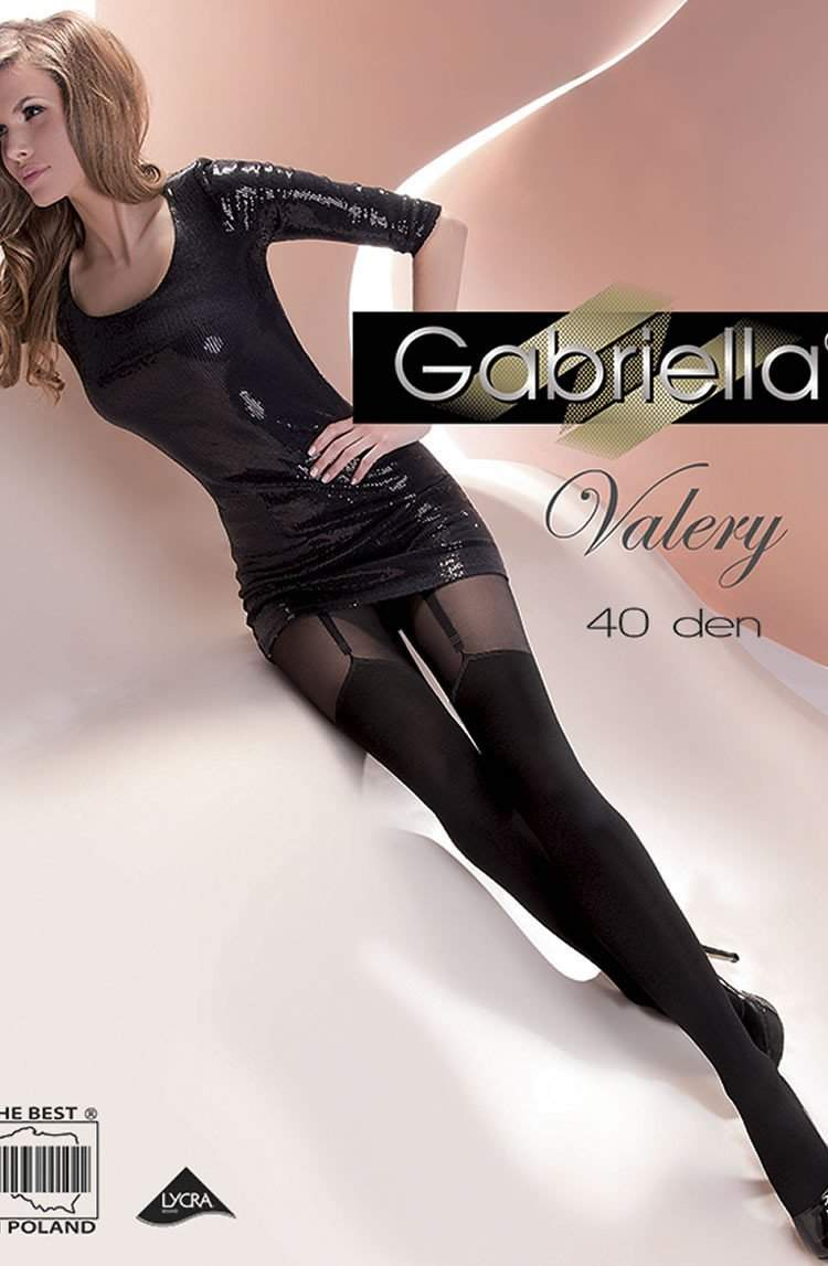 Fantasia Valery in Nero by Gabriella - Gabriella - Katys Boutique Lingerie USA