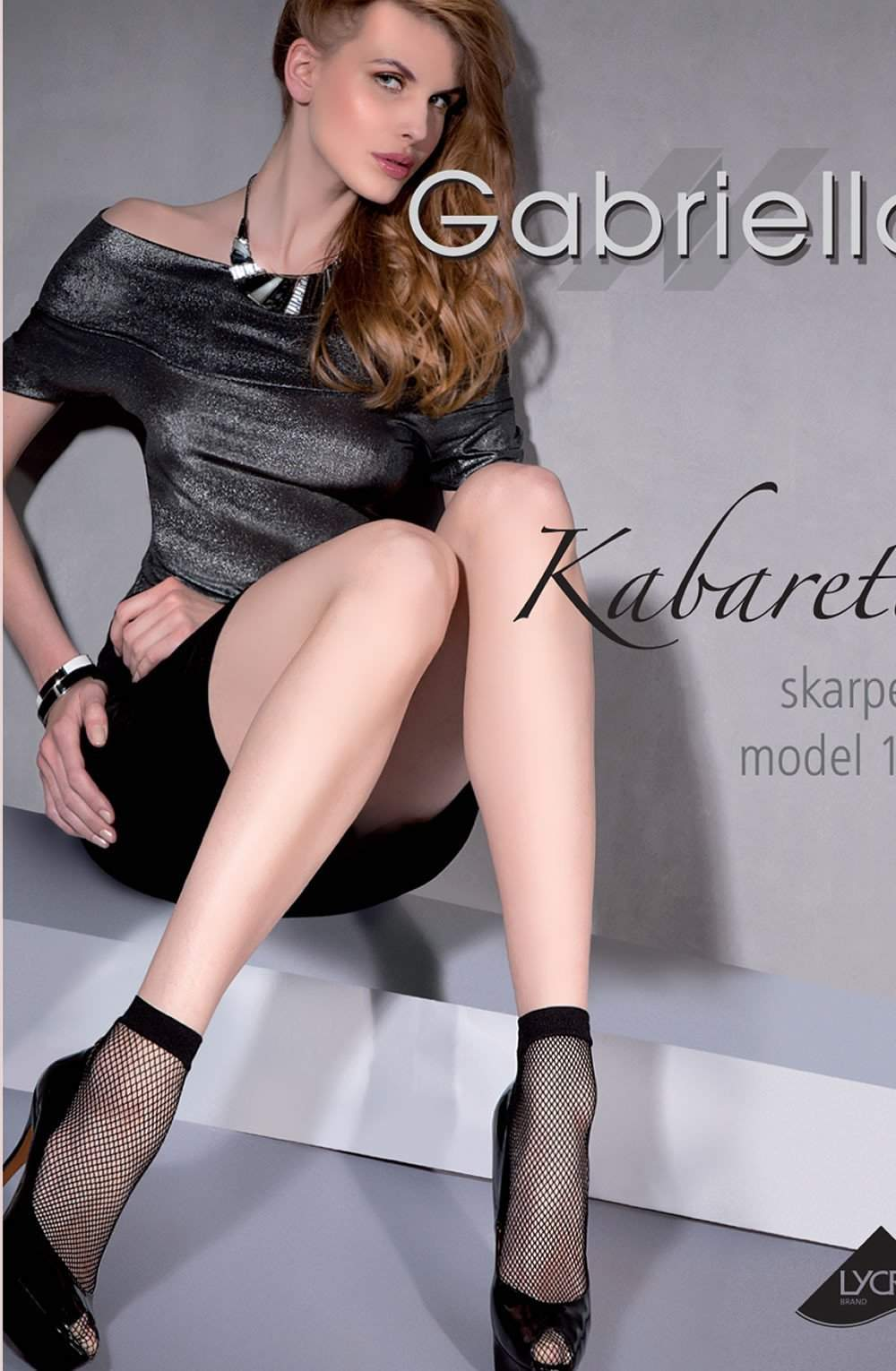 Kabaretta Socks in Nero by Gabriella - Gabriella - Katys Boutique Lingerie USA