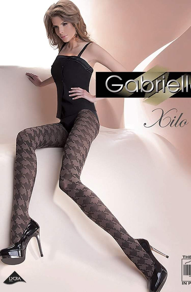 Xilo Tights in Hazel by Gabriella Lingerie - Gabriella - Katys Boutique Lingerie USA