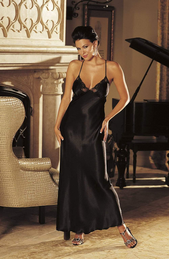 20300 Dress in Black by Shirley of Hollywood - Shirley of Hollywood - Katys Boutique Lingerie USA