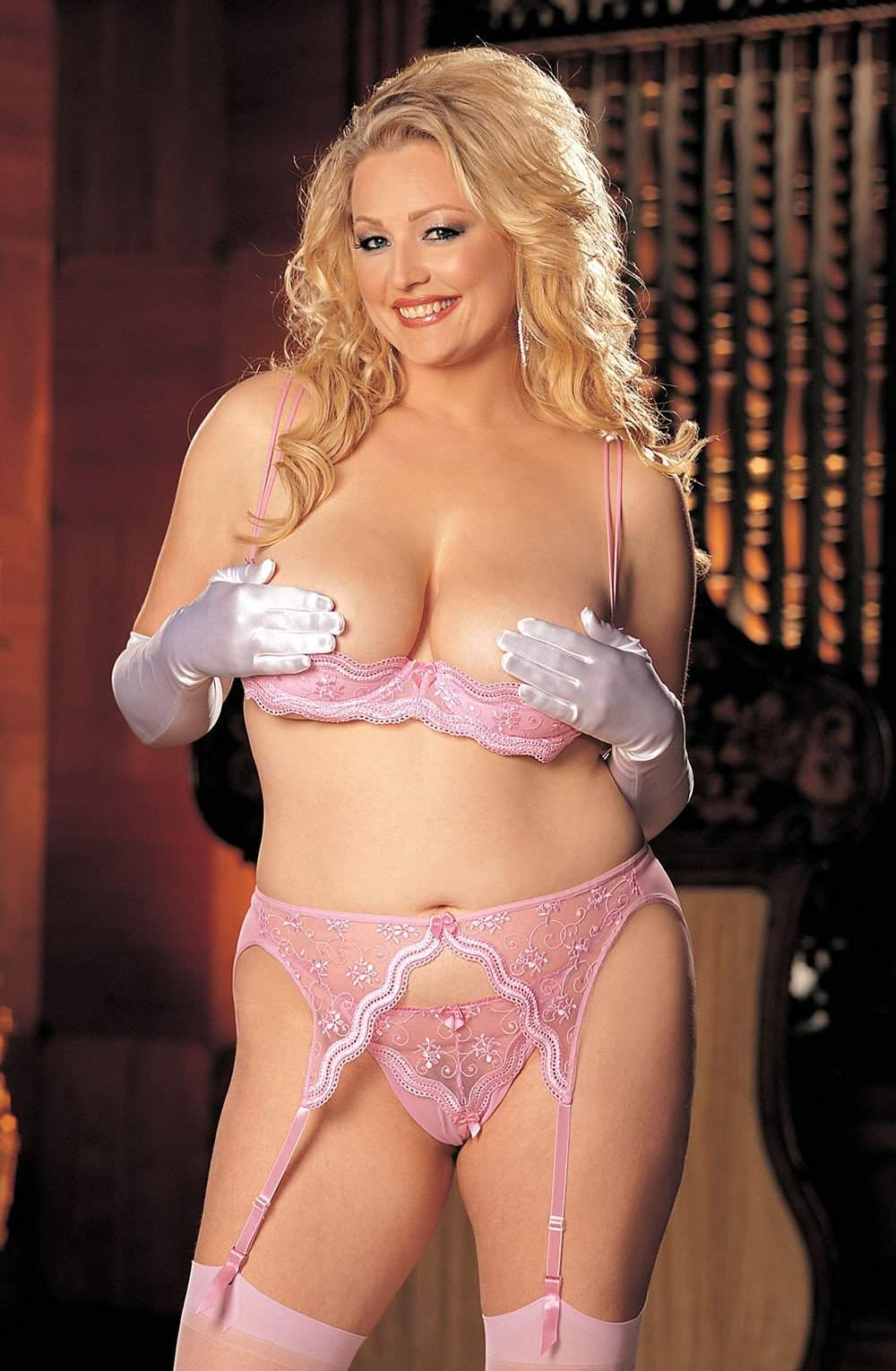 X10 Thong in Pink by Shirley of Hollywood - Shirley of Hollywood - Katys Boutique Lingerie USA