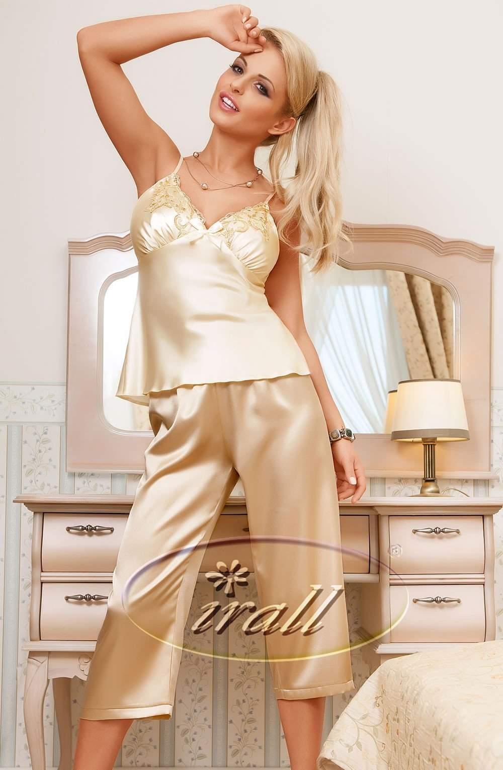 Parisa Pajamas by Irall - Irall - Katys Boutique Lingerie USA