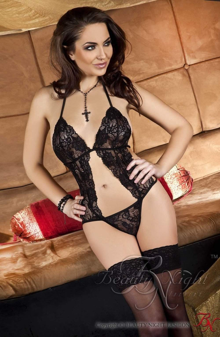 Ann Body in Black by Beauty Night - Beauty Night - Katys Boutique Lingerie USA