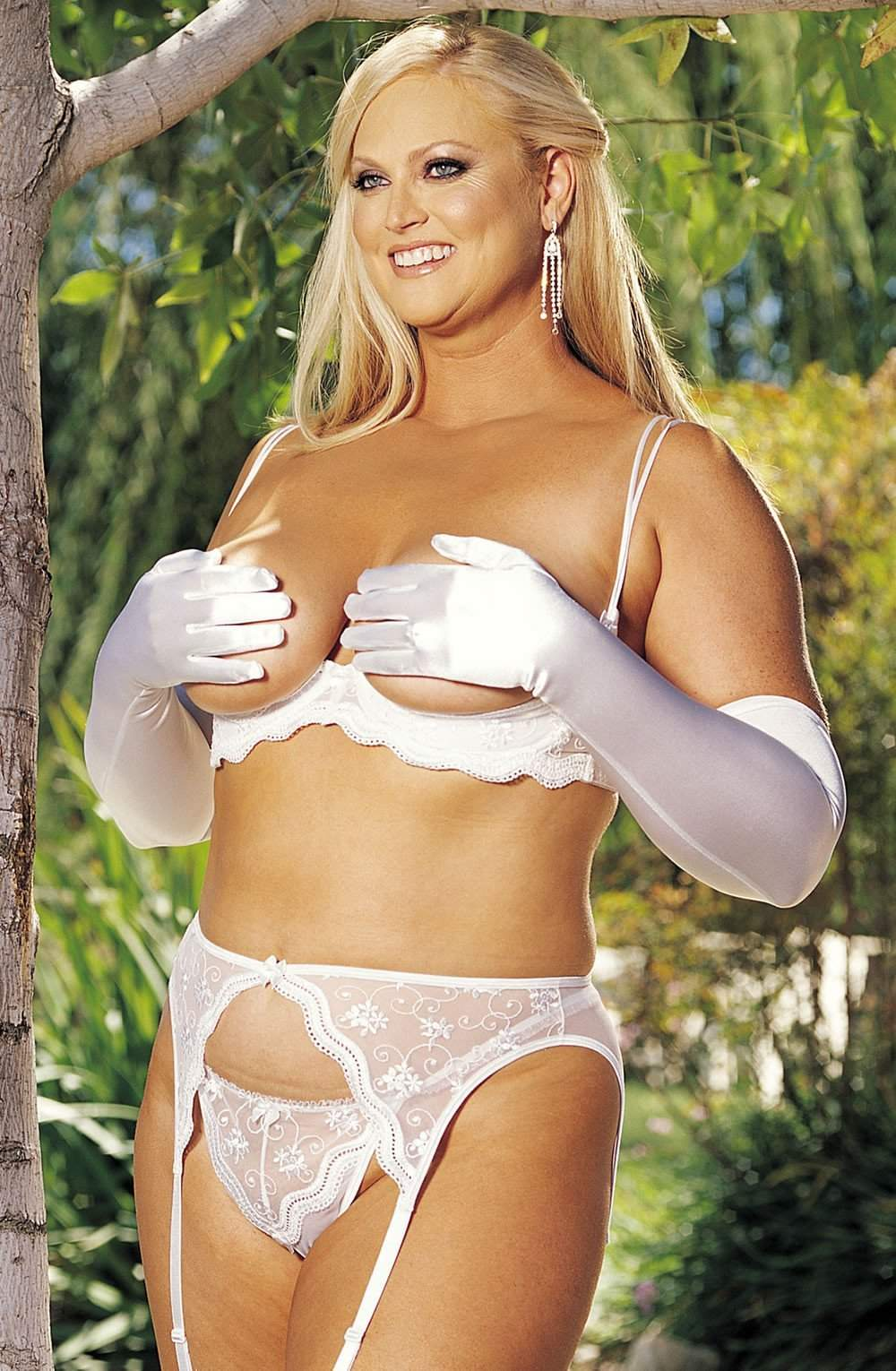 SoH-IA X622 Belt White - Shirley of Hollywood - Katys Boutique Lingerie USA