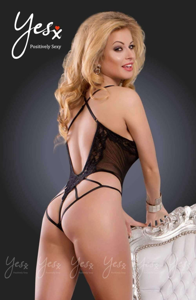 YX209 Teddy in Black by YesX - YesX - Katys Boutique Lingerie USA