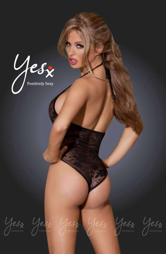 YX211 Teddy in Black by YesX - YesX - Katys Boutique Lingerie USA