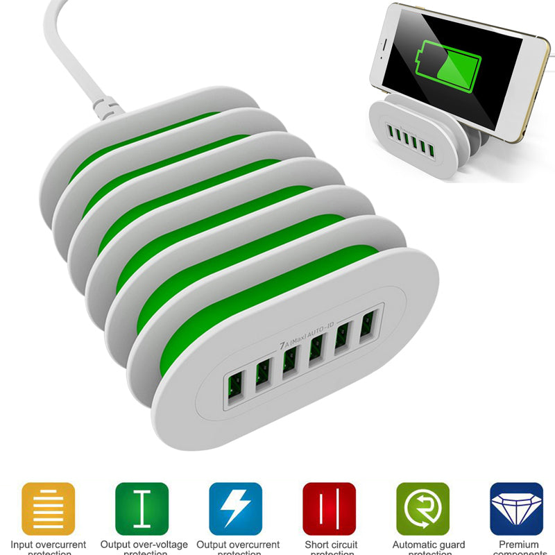 charging station , phone charging station,multi device charging station