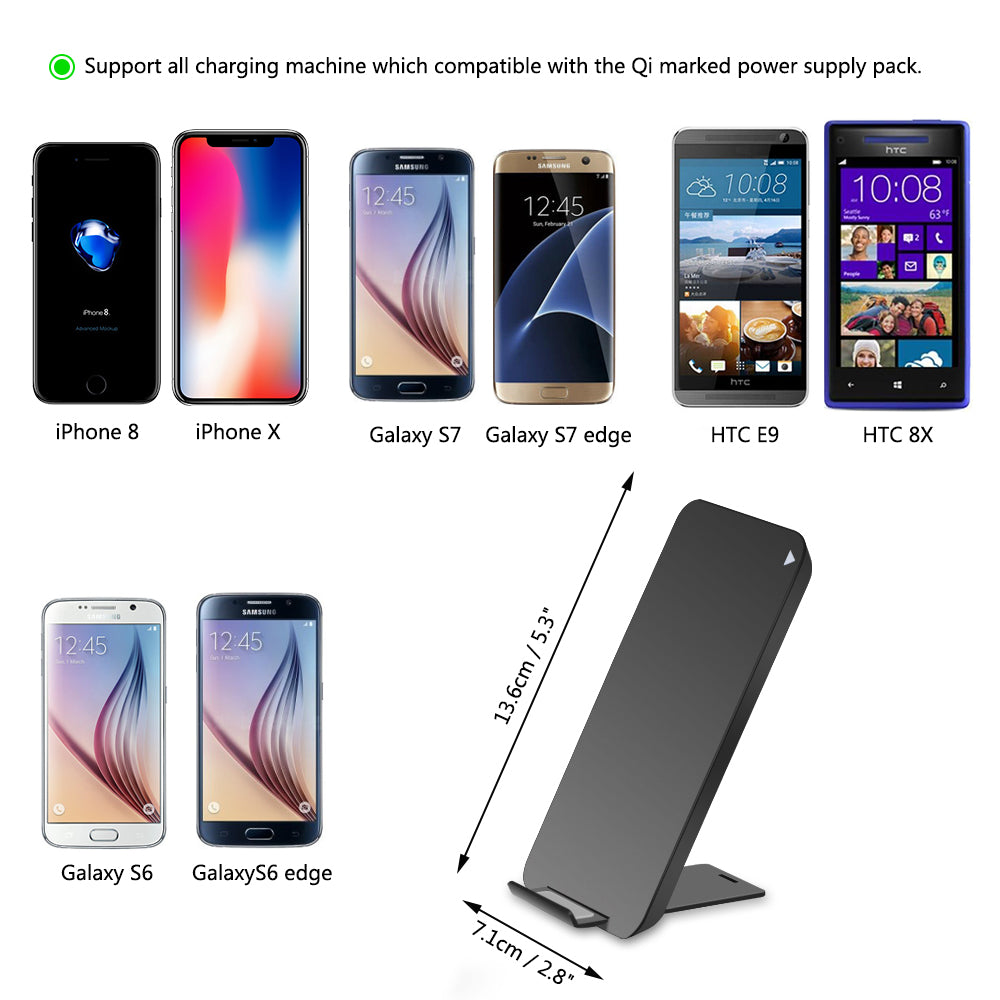 wireless cell phone charging station, wireless charging pad for all phones