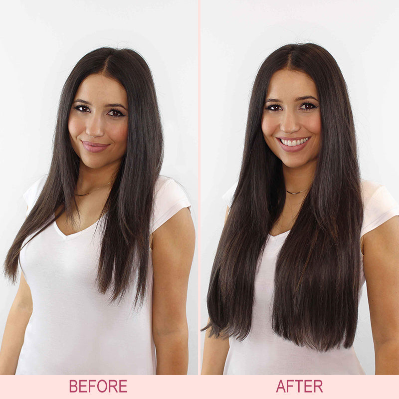 Hair Extensions 5 Clips Long Straight Hair Extensions Woomaya