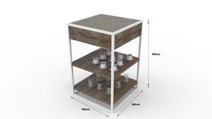 Pumzi Kitchen Side Shelf