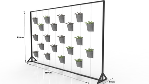 Kiota Plant Wall - Office Accessory