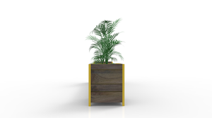 Karimu Bench & Planter