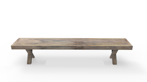 Cross Dining Bench