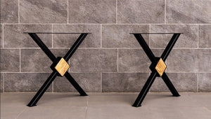 X-Leg Dining Table