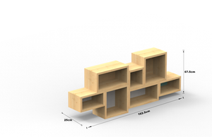 Pande Floating Shelves