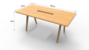 Soffit Conference Table