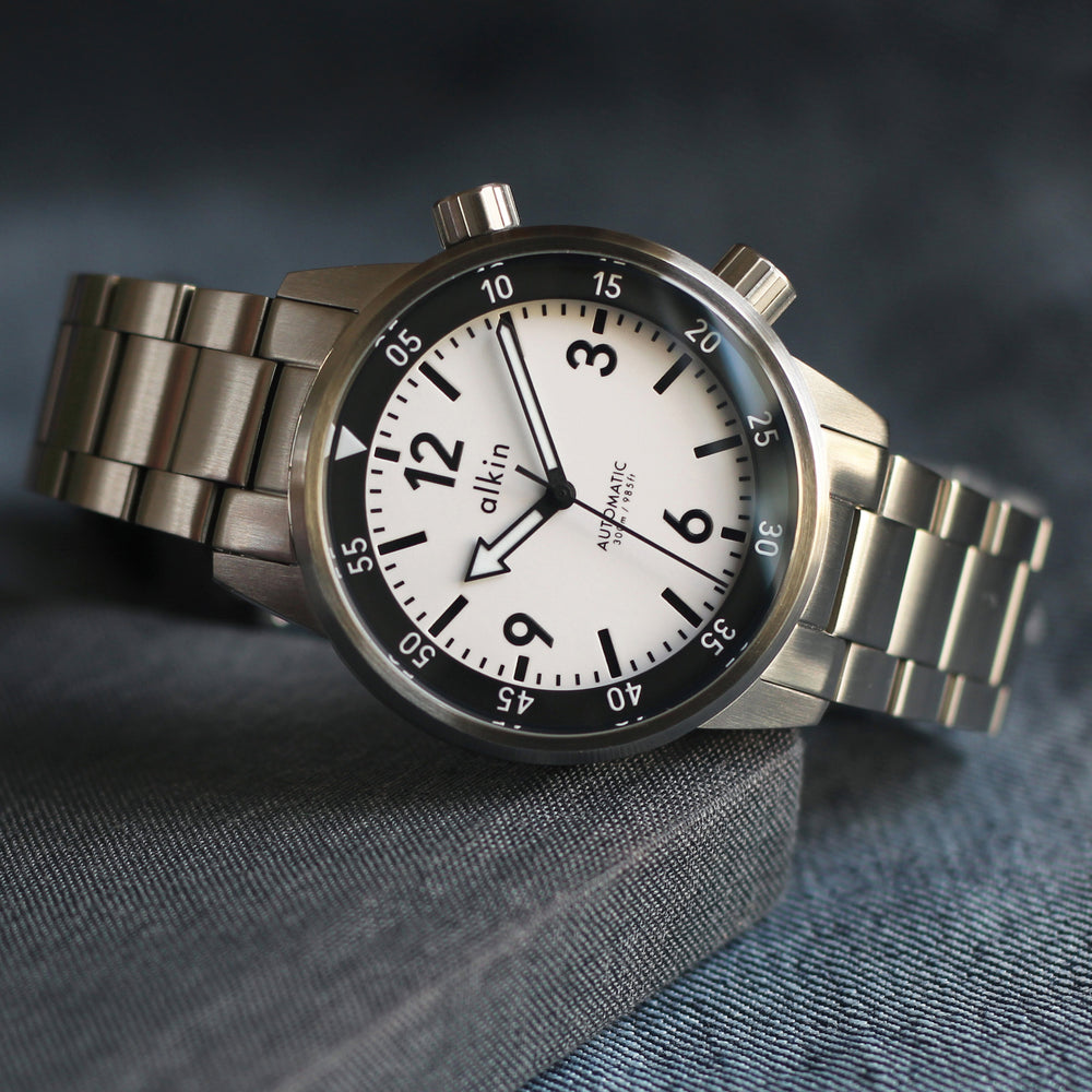Model Two Pre-order - White Dial / SS Case