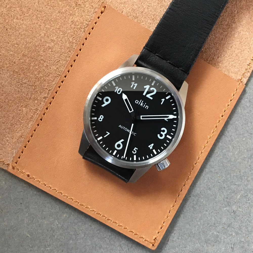 Model One - Black Dial / SS Case