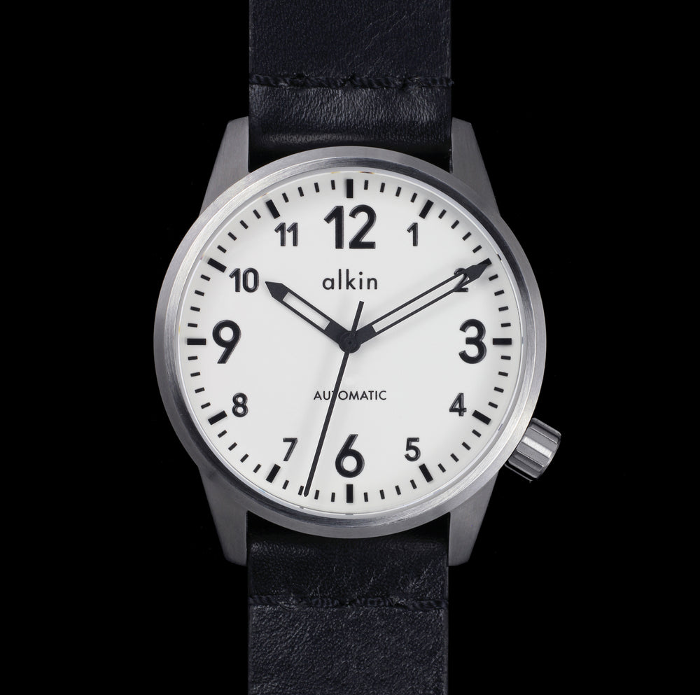 Model One - White Dial / SS Case