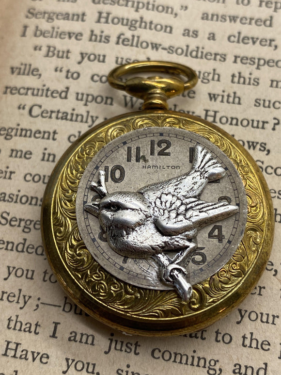 Sparrow Keepsake Locket - The Victorian Magpie