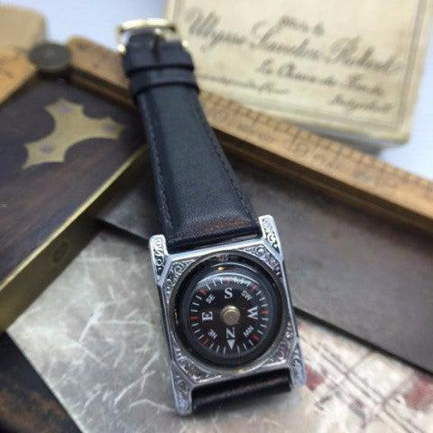 Vintage Compass Watch Bracelet - The Victorian Magpie