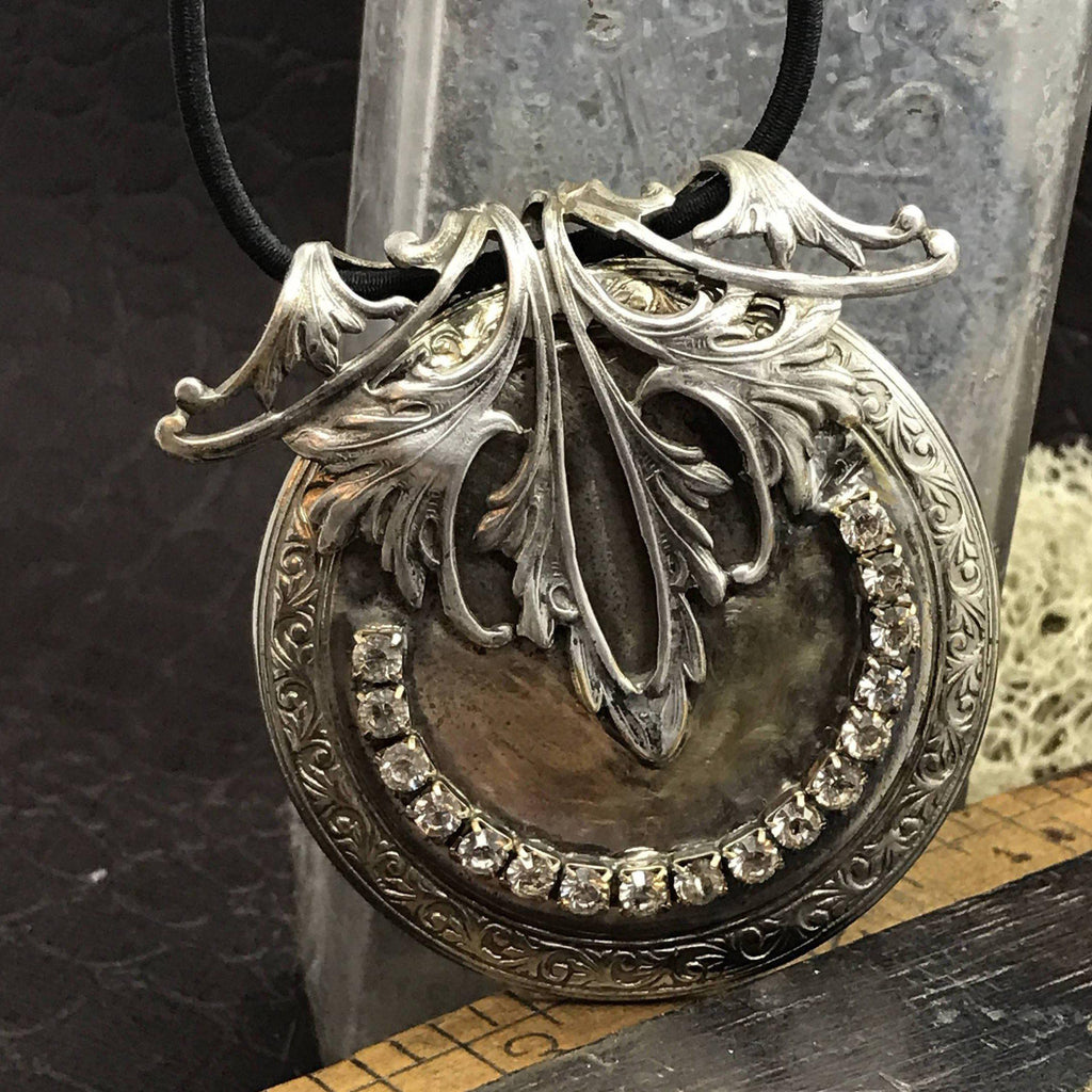 Elvish Watch Case Necklace