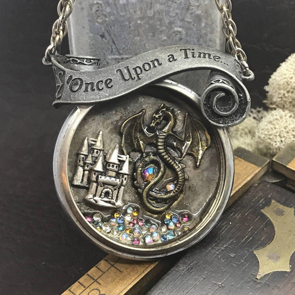 Once Upon a Time Necklace - The Victorian Magpie
