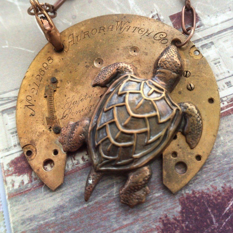 Melton, Sea Turtle Necklace