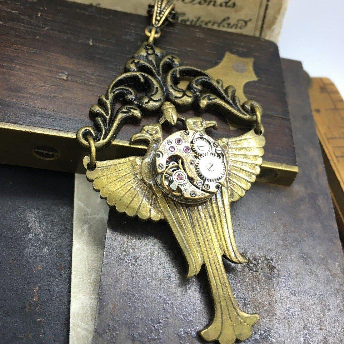 Steampunk Egyptian Necklace