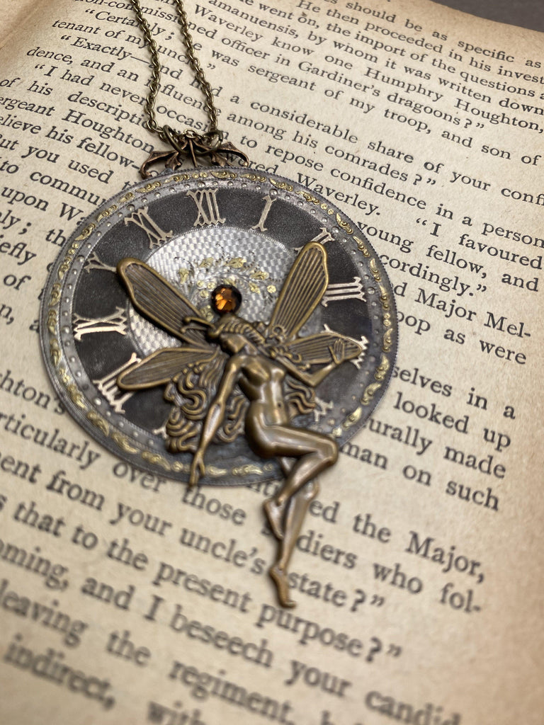 Magdalena, Circa 1800 Fairy Necklace - The Victorian Magpie